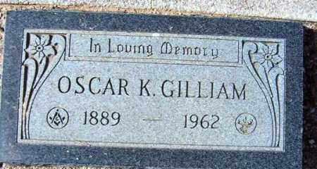 GILLIAM, OSCAR K. - Maricopa County, Arizona | OSCAR K. GILLIAM - Arizona Gravestone Photos