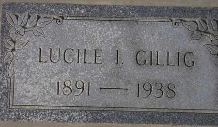 GILLIG, LUCILE I. - Maricopa County, Arizona | LUCILE I. GILLIG - Arizona Gravestone Photos