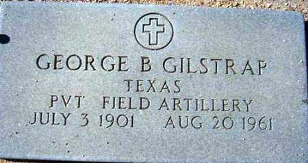 GILSTRAP, GEORGE B. - Maricopa County, Arizona | GEORGE B. GILSTRAP - Arizona Gravestone Photos