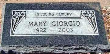 CONTRERAS GIORGIO, MARY - Maricopa County, Arizona | MARY CONTRERAS GIORGIO - Arizona Gravestone Photos