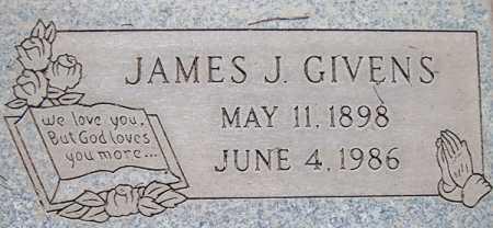GIVENS, JAMES J. - Maricopa County, Arizona | JAMES J. GIVENS - Arizona Gravestone Photos