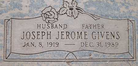 GIVENS, JOSEPH JEROME - Maricopa County, Arizona | JOSEPH JEROME GIVENS - Arizona Gravestone Photos