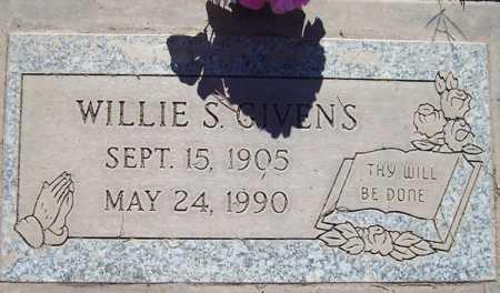 GIVENS, WILLIE S. - Maricopa County, Arizona   WILLIE S. GIVENS - Arizona Gravestone Photos