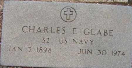 GLABE, CHARLES E. - Maricopa County, Arizona   CHARLES E. GLABE - Arizona Gravestone Photos