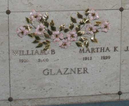 GLAZNER, MARTHA K. - Maricopa County, Arizona | MARTHA K. GLAZNER - Arizona Gravestone Photos