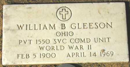GLEESON, WILLIAM B. - Maricopa County, Arizona | WILLIAM B. GLEESON - Arizona Gravestone Photos