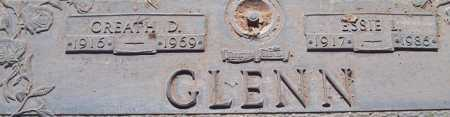 GLENN, CREATH D. - Maricopa County, Arizona | CREATH D. GLENN - Arizona Gravestone Photos