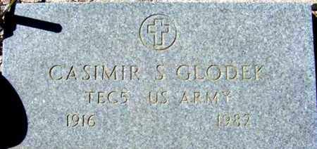 GLODEK, CASIMIR S. - Maricopa County, Arizona | CASIMIR S. GLODEK - Arizona Gravestone Photos