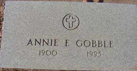 GOBBLE, ANNIE ELTHEA - Maricopa County, Arizona | ANNIE ELTHEA GOBBLE - Arizona Gravestone Photos