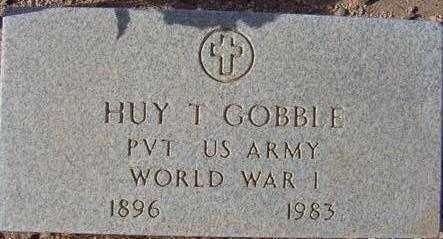 GOBBLE, HUY T. - Maricopa County, Arizona   HUY T. GOBBLE - Arizona Gravestone Photos