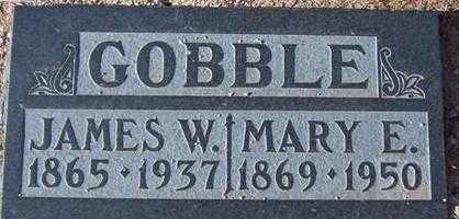 GRAGG GOBBLE, MARY ELLA - Maricopa County, Arizona | MARY ELLA GRAGG GOBBLE - Arizona Gravestone Photos