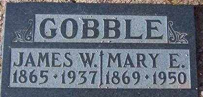 GOBBLE, MARY ELLA - Maricopa County, Arizona | MARY ELLA GOBBLE - Arizona Gravestone Photos