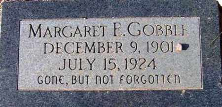 GOBBLE, MARGARET ELIZABETH - Maricopa County, Arizona | MARGARET ELIZABETH GOBBLE - Arizona Gravestone Photos