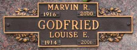 GODFRIED, LOUISE E - Maricopa County, Arizona | LOUISE E GODFRIED - Arizona Gravestone Photos