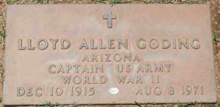 GODING, LLOYD ALLEN - Maricopa County, Arizona | LLOYD ALLEN GODING - Arizona Gravestone Photos