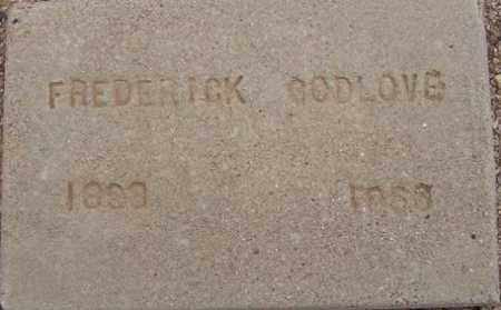 GODLOVE, FREDERICK K. (FRED) - Maricopa County, Arizona | FREDERICK K. (FRED) GODLOVE - Arizona Gravestone Photos