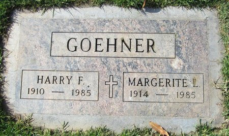 GOEHNER, MARGERITE L - Maricopa County, Arizona | MARGERITE L GOEHNER - Arizona Gravestone Photos