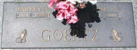 GOERTZ, HARVEY E. - Maricopa County, Arizona | HARVEY E. GOERTZ - Arizona Gravestone Photos