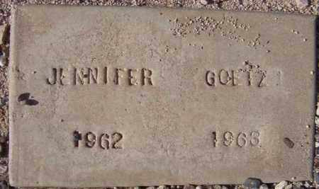 GOETZ, JENNIFER - Maricopa County, Arizona | JENNIFER GOETZ - Arizona Gravestone Photos