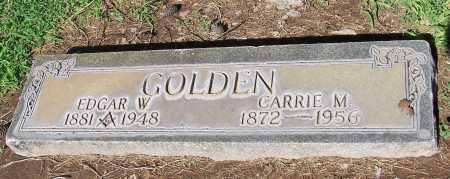 GOLDEN, EDGAR W. - Maricopa County, Arizona | EDGAR W. GOLDEN - Arizona Gravestone Photos