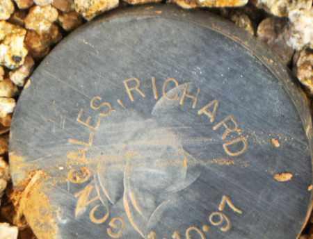 GONCALES, RICHARD - Maricopa County, Arizona | RICHARD GONCALES - Arizona Gravestone Photos