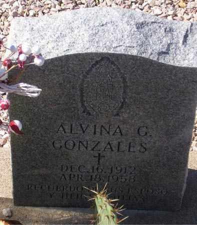 GONZALES, ALVINA G. - Maricopa County, Arizona | ALVINA G. GONZALES - Arizona Gravestone Photos