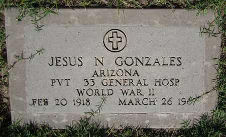 GONZALES, JESUS N. - Maricopa County, Arizona | JESUS N. GONZALES - Arizona Gravestone Photos