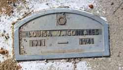 GONZALES, LOUISA V. - Maricopa County, Arizona   LOUISA V. GONZALES - Arizona Gravestone Photos