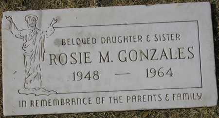 GONZALES, ROSIE M. - Maricopa County, Arizona | ROSIE M. GONZALES - Arizona Gravestone Photos