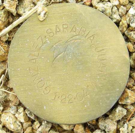 GONZALEZ-SARABIA, JUAN M. - Maricopa County, Arizona | JUAN M. GONZALEZ-SARABIA - Arizona Gravestone Photos