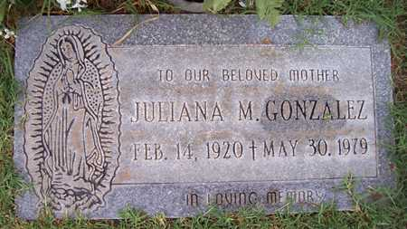 GONZALEZ, JULIANA M. - Maricopa County, Arizona | JULIANA M. GONZALEZ - Arizona Gravestone Photos