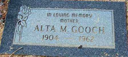 GOOCH, ALTA M. - Maricopa County, Arizona | ALTA M. GOOCH - Arizona Gravestone Photos