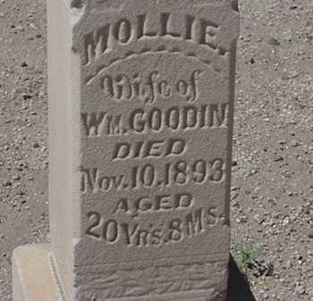 GOODIN, MOLLIE - Maricopa County, Arizona | MOLLIE GOODIN - Arizona Gravestone Photos