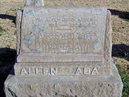 GOODLANDER, WILLIAM ALLEN - Maricopa County, Arizona   WILLIAM ALLEN GOODLANDER - Arizona Gravestone Photos