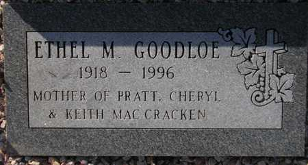GOODLOE, ETHEL M. - Maricopa County, Arizona | ETHEL M. GOODLOE - Arizona Gravestone Photos