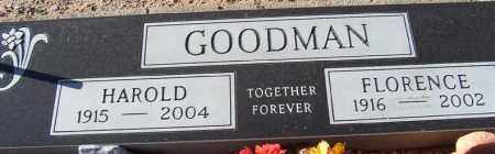 WILKINSON GOODMAN, FLORENCE - Maricopa County, Arizona | FLORENCE WILKINSON GOODMAN - Arizona Gravestone Photos
