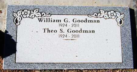 GOODMAN, THEO S. - Maricopa County, Arizona   THEO S. GOODMAN - Arizona Gravestone Photos