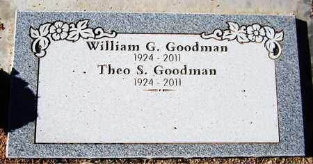 GOODMAN, THEO S. - Maricopa County, Arizona | THEO S. GOODMAN - Arizona Gravestone Photos