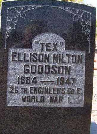 GOODSON, ELLISON MILTON (TEX) - Maricopa County, Arizona | ELLISON MILTON (TEX) GOODSON - Arizona Gravestone Photos