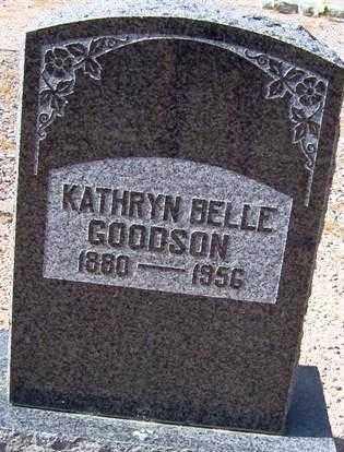 GOODSON, KATHRYN BELLE - Maricopa County, Arizona   KATHRYN BELLE GOODSON - Arizona Gravestone Photos