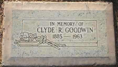 GOODWIN, CLYDE R - Maricopa County, Arizona | CLYDE R GOODWIN - Arizona Gravestone Photos