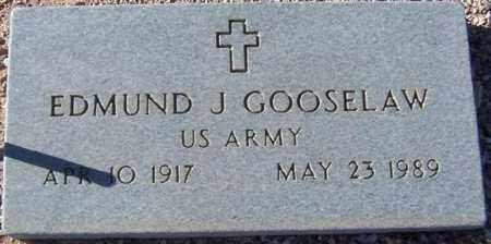 GOOSELAW, EDMUND J. - Maricopa County, Arizona | EDMUND J. GOOSELAW - Arizona Gravestone Photos