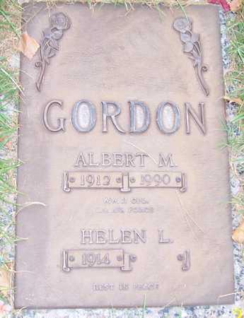 GORDON, ALBERT M. - Maricopa County, Arizona | ALBERT M. GORDON - Arizona Gravestone Photos