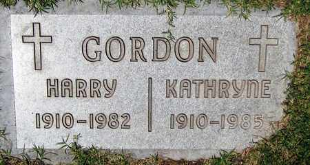 GORDON, KATHRYNE - Maricopa County, Arizona | KATHRYNE GORDON - Arizona Gravestone Photos