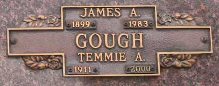 GOUGH, TEMMIE A - Maricopa County, Arizona | TEMMIE A GOUGH - Arizona Gravestone Photos