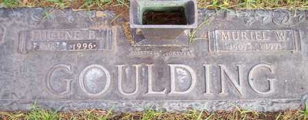 GOULDING, EUGENE B. - Maricopa County, Arizona | EUGENE B. GOULDING - Arizona Gravestone Photos
