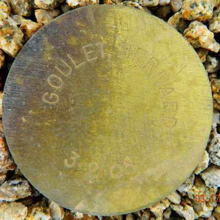 GOULET, BERNARD - Maricopa County, Arizona | BERNARD GOULET - Arizona Gravestone Photos