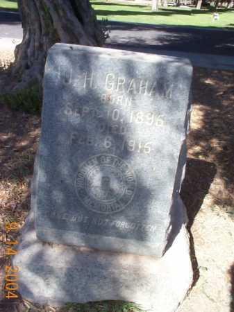 GRAHAM, J. H. - Maricopa County, Arizona | J. H. GRAHAM - Arizona Gravestone Photos