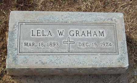 GRAHAM, LELA MAUD - Maricopa County, Arizona | LELA MAUD GRAHAM - Arizona Gravestone Photos
