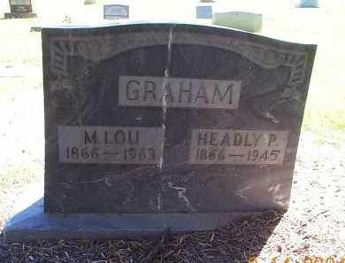 GRAHAM, HEADLY P. - Maricopa County, Arizona   HEADLY P. GRAHAM - Arizona Gravestone Photos